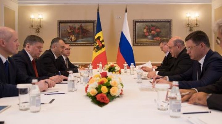 Moldovan PM Ion Chicu met with his Russian counterpart Mikhail Mishustin