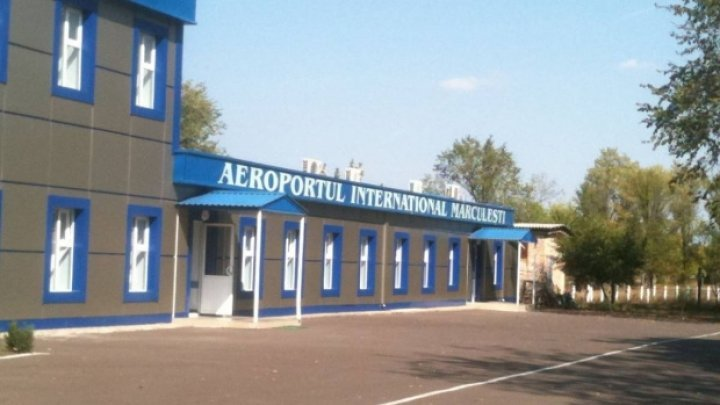 How much does it cost to reopen Mărculești airport?