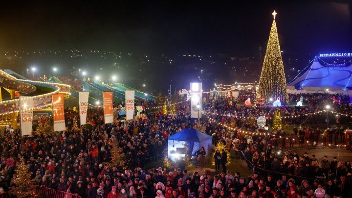 Orhei Christmas Fair beats record to receive almost hundred of thousand of visitors in two weeks