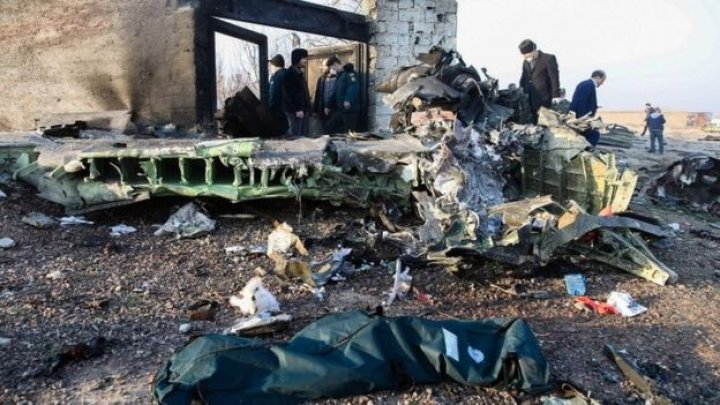 First declarations of Ukrainian Embassy and President after plane crash in Iran