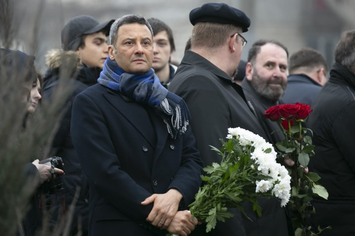 Flowers laid at Chisinau Victims of Fascism monument (photo report)