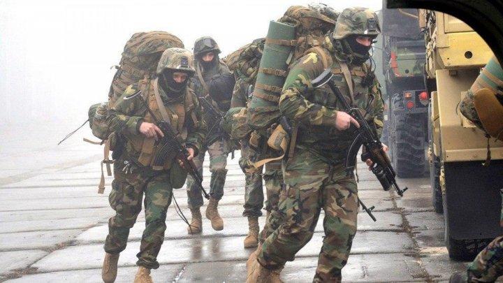 Special Forces Battalion Fulger went on red alert