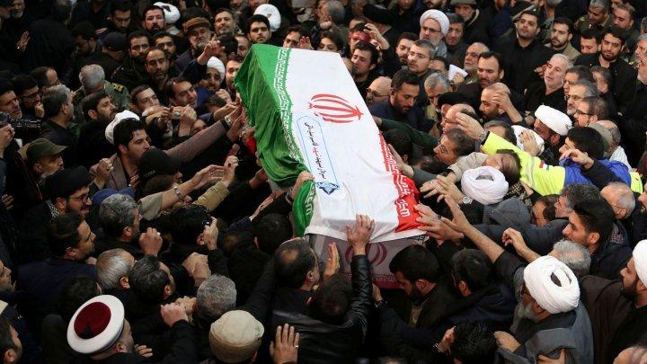 Dozens mourners killed during stampede at Iranian general Qassem Soleimani's funeral