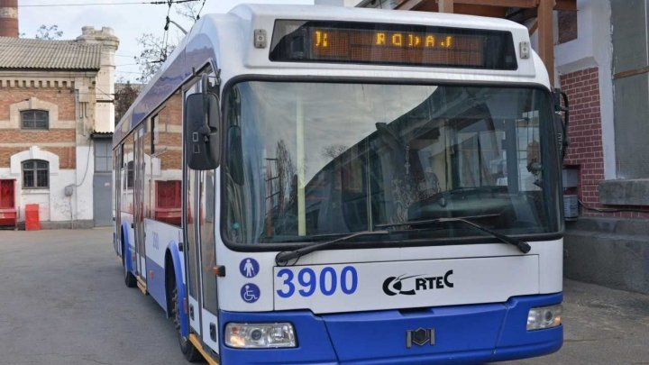 New air-conditioned trolleybus to operate on line no.34 Chisinau - Trușeni