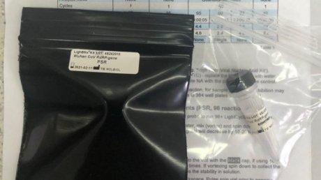 Coronavirus test kit sent to Moldova