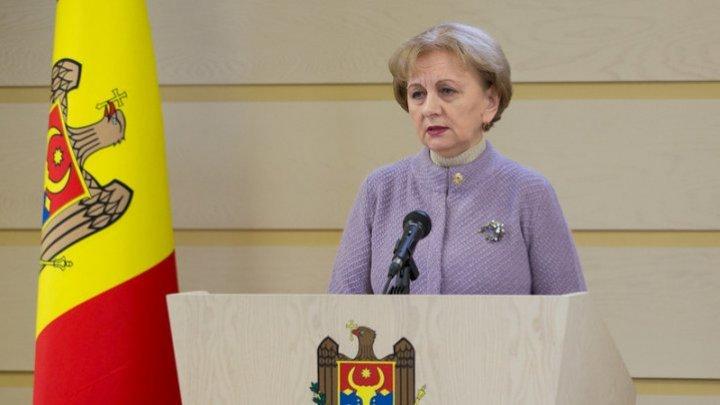 Zinaida Greceanîi announced Parliament's priorities in the spring session