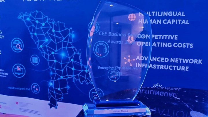 Chisinau distinguished as Emerging City of the Year - SEE for IT sector development
