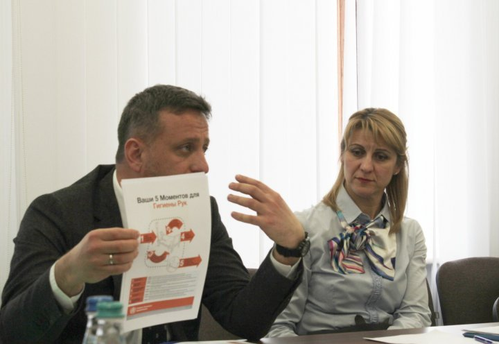 Chisinau and Tiraspol experts in joint meeting to cope with coronavirus