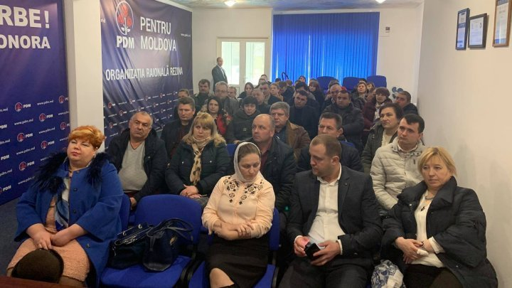 PDM Rezina left party and declared support for parliamentary group PRO MOLDOVA