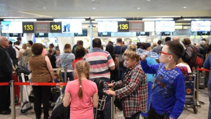 Moscow - Chisinau flight put off due to heavy snowfall