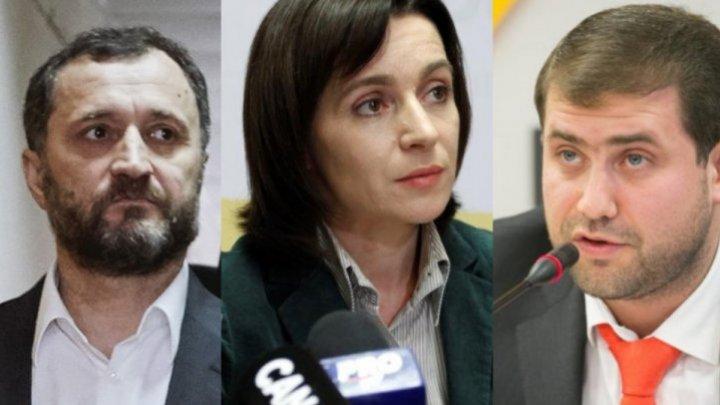 Tit-for-tat statements of Vlad Filat, Ilan Şor over Mai Sandu