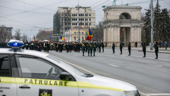 First day of spring marked with protests, commemoration, violence and blocked traffic (photo report)