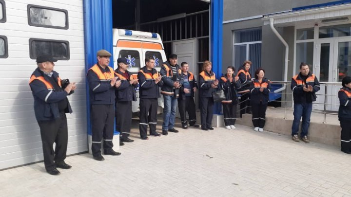 Offices of Emergency Medical Service renovated according to European standards