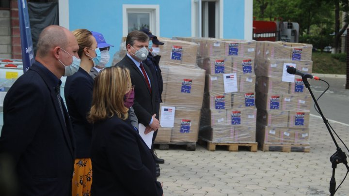 Austrian Government donated to Emergency Situations Inspectorate a batch of protective equipment