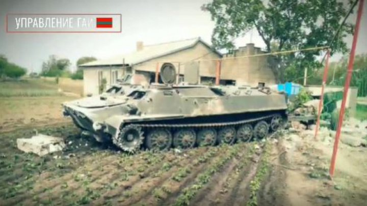 Viral video: How an armored vehicle carrying an artillery cannon ended up in a garden?