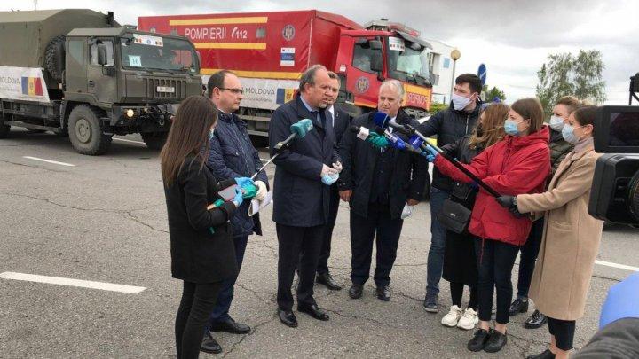 Ambassador Daniel Ioniță on Romania's coronavirus aid: It's a gesture of solidarity, for Moldovan citizens (photos/video)