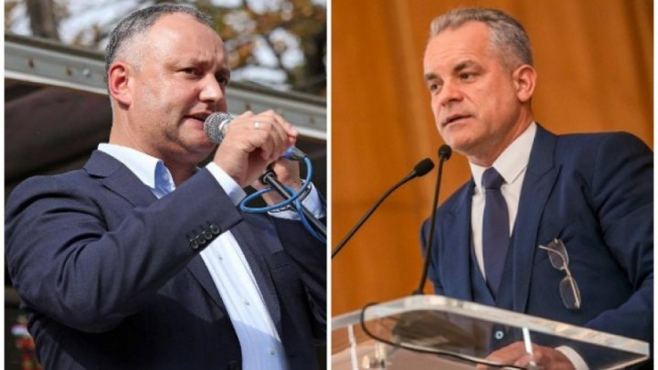 MP Iurie Reniță published a video showing President Igor Dodon received a bag of money from Vlad Plahotniuc