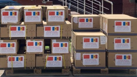 Moldova receives another batch of humanitarian aid from China