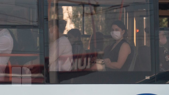 Central Market and public transports, potential coronavirus epicenter (photo report)
