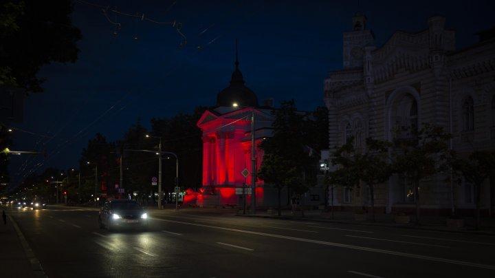 Chisinau night lights (photo reports)