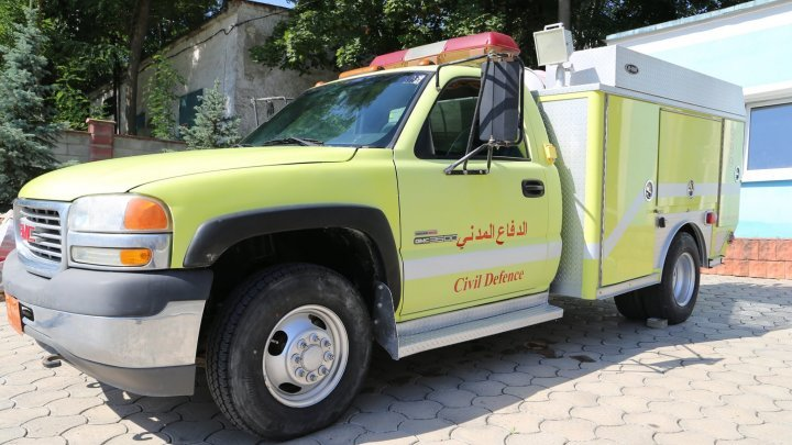 Qatar donated equipment worth $56,000 to Moldovan rescuers