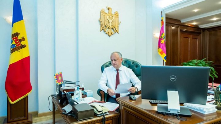 President Igor Dodon had a telephone conversation with his Italian counterpart