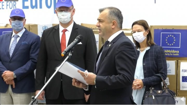 Moldova receives first batch of humanitarian aid provided by EU and WHO