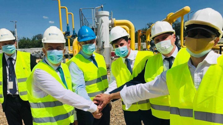 Ungheni-Chisinau gas pipeline to be put into operation by August
