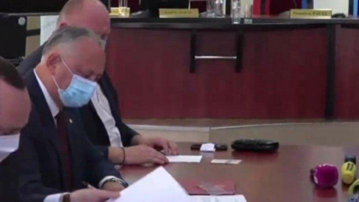 President Igor Dodon to run for a new term as president
