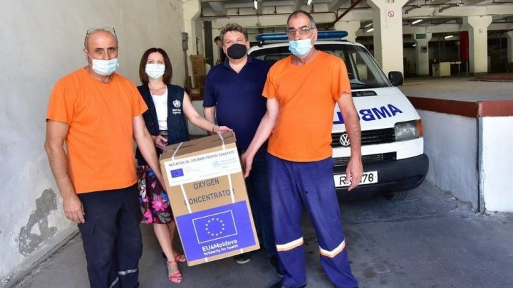 Moldova receives equipment that increases the chances of life and recovery of coronavirus-infected patients