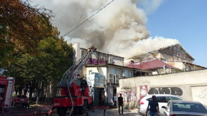 Fire at National Philharmonic under control (video/photo)