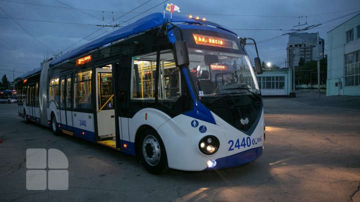 New trolleybuses cannot run on Stefan Cel Mare street due to asphalt unevenness