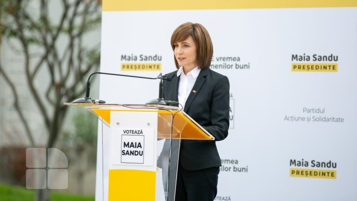 Ten actions Maia Sandu will take if elected president