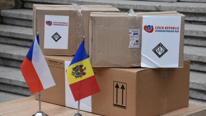 Czech Republic has donated protective equipment to four placement centers in Moldova