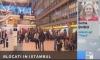 Din cauza norului de fum, 10 jurnalişti şi ONG-işti moldoveni au rămas blocaţi în aeroport în Turcia