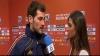 Iubita lui Casillas a fost prima căruia acesta i-a acordat un interviu după meciul cu Elveția