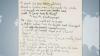 """Versurile unui cântec al trupei """"The Beatles"""" au fost vândute la New York cu un preţ record"""