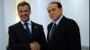 Dmitri Medvedev va avea o întrevedere cu premierul italian, Silvio Berlusconi