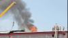 Un incendiu puternic a izbucnit la un depozit de materiale de construcţii din Tiraspol
