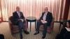 Liderul palestinian, Mahmoud Abbas şi cel al Israelului, Shimon Peres s-au întâlnit ieri la New York