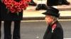 Regina Elizabeta a Marii Britanii a participat la comemorarea victimelor celor două războaie mondiale