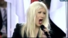Christina Aguilera a gafat-o la Super Bowl VEZI VIDEO