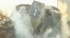 Imobil demolat în 15 secunde, cu 70 kilograme de explozibili VEZI VIDEO