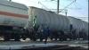 Un tren care transporta combustibil a deraiat în Canada