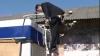 Chirtoacă s-a căţărat pe troleibuze să vadă cât sunt de frumoase VEZI VIDEO