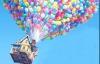Uimitor: O casă ridicată de baloane la 3 km înălţime VEZI VIDEO