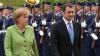 Vlad Filat în Germania şi Angela Merkel în Republica Moldova