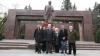 Voronin şi geniul din Lenin. Flori şi poezii pentru fostul lider bolşevic