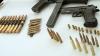 Poliţia a depistat peste o mie de cartuşe păstrate ilegal în Durleşti