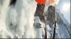 Un schior, la un pas de a fi prins de o avalanşă VEZI VIDEO